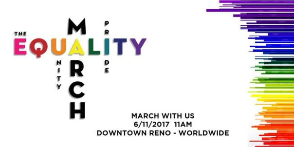 Equality March 11 June Reno