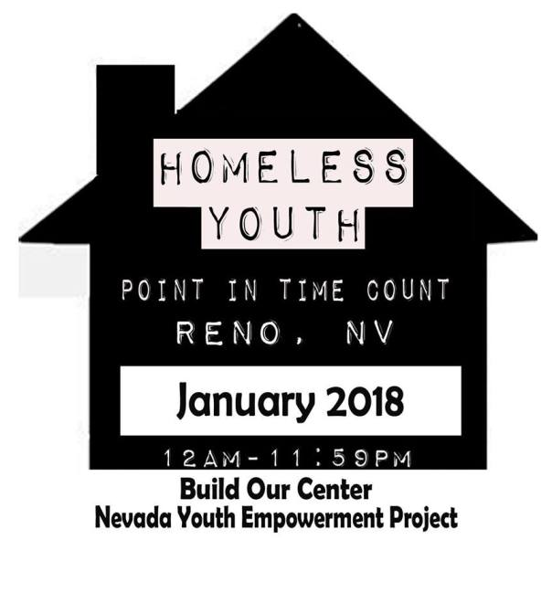 Homeless Youth Count 2017 - change