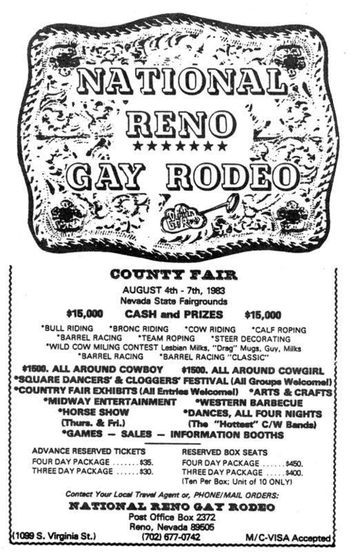 National Reno Gay Rodeo