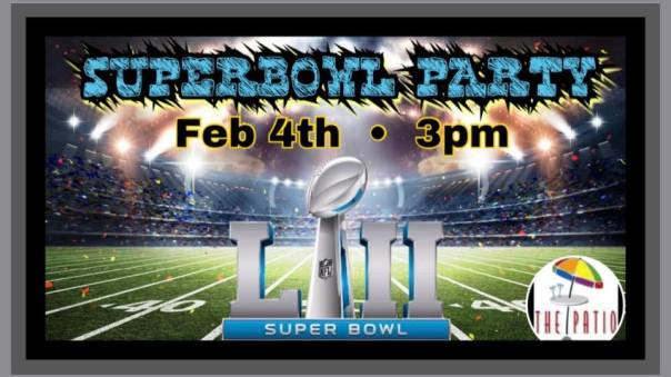 Patio SuperBowl Party 2018