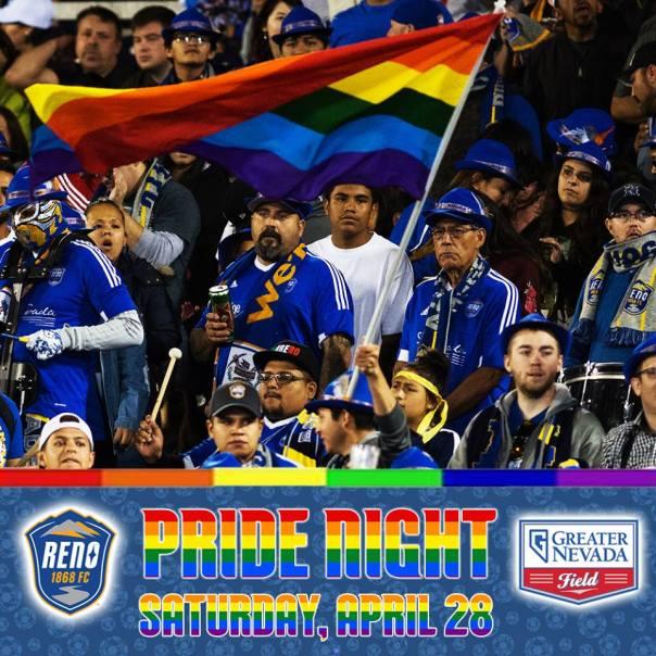 Pride Night Reno 1868 FC