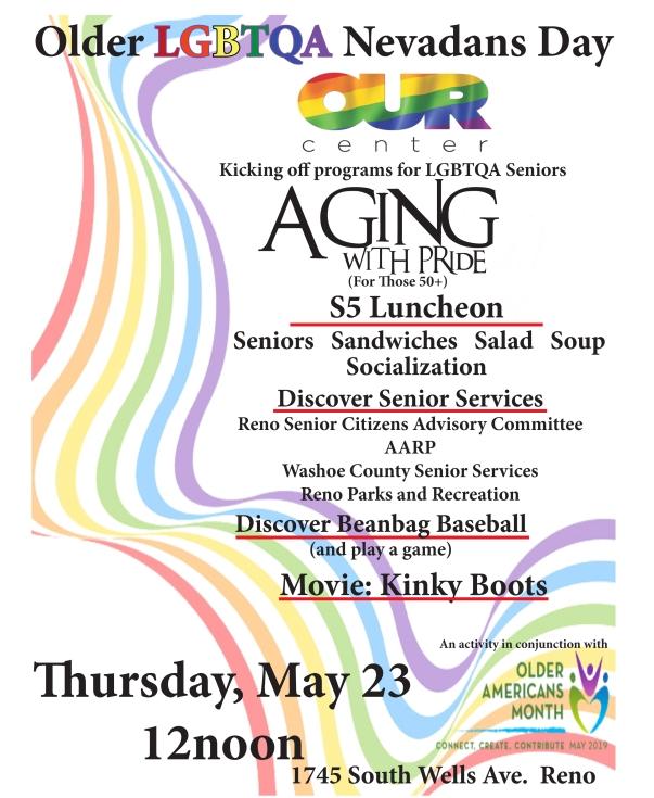 Older LGBTQA Nevadans Day